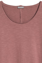 Raw-edge T-shirt - Pale red - Men | H&M 3