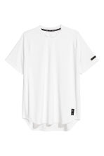 Short-sleeved sports top - White - Men | H&M CA 2
