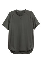 Short-sleeved sports top - Black - Men | H&M CA 2