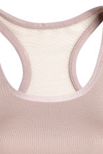 Sportbeha Medium support - Nougat - DAMES | H&M BE 3