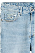 Slim Low Jeans - Light denim blue - Men | H&M 4