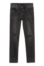 Slim Jeans - Black - Men | H&M GB 1