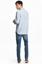 Slim Low Jeans - Dark blue washed out - Men | H&M 4