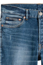 Slim Low Jeans - Dark blue washed out - Men | H&M CA 5