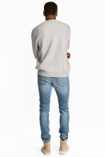 Slim Low Jeans - Denim blue -  | H&M 5