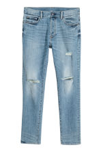 Slim Low Jeans - Denim blue -  | H&M 3