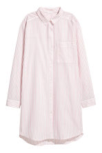 Cotton nightshirt - Light pink/Striped - Ladies | H&M 2