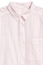 Cotton nightshirt - Light pink/Striped - Ladies | H&M 3
