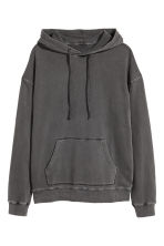 Washed hooded top - Dark grey - Men | H&M 2