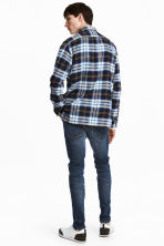 Skinny Low Jeans - Dark denim blue - Men | H&M 4