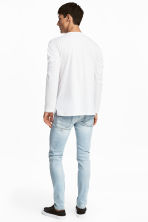 Skinny Low Jeans - Light denim blue - Men | H&M 4