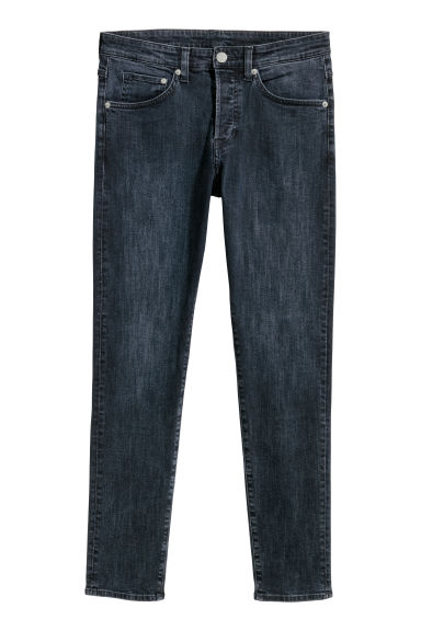 Skinny Low Jeans - Dark blue - Men | H&M