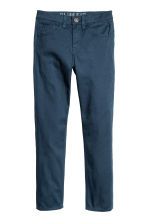 Twill trousers Slim fit - Dark blue - Kids | H&M CA 2