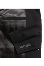Jacket Skinny fit - Black - Men | H&M 3