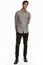 Skinny Regular Jeans - Nero - UOMO | H&M IT 6