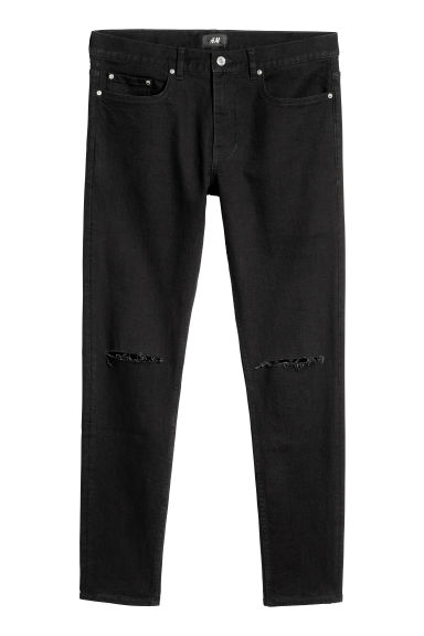 Skinny Jeans - Noir - HOMME | H&M BE