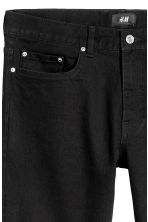 Skinny Regular Jeans - Nero - UOMO | H&M IT 7