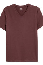 2件入貼身T恤 - Dark brown - Men | H&M 2