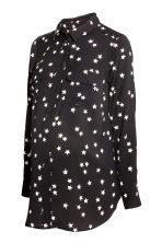 MAMA Shirt - Black/Stars - Ladies | H&M 2