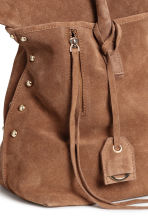 Suede shopper - Light brown - Ladies | H&M CN 2