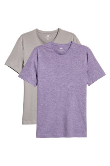 Set van 2 T-shirts - Slim fit