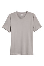 2-pack T-shirts Slim fit - Purple/Mole - Men | H&M 3