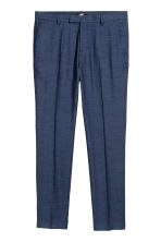 Suit trousers Skinny fit - Dark blue marl - Men | H&M 2
