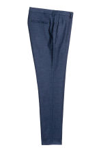 Suit trousers Skinny fit - Dark blue marl - Men | H&M 3