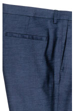 Suit trousers Skinny fit - Dark blue marl - Men | H&M 4