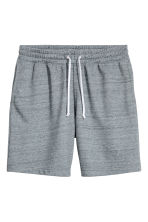 Sweatshirt shorts - Blue-grey marl - Men | H&M 2