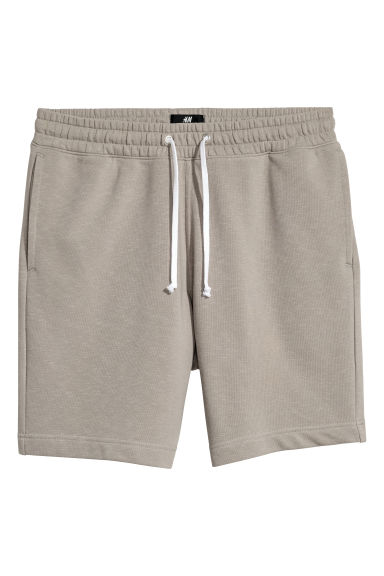 Sweatshirt shorts - Mole - Men | H&M IE