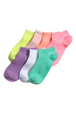 7-pack trainer socks - Light pink -  | H&M CN 1
