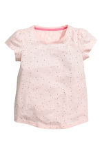2-pack jersey pyjamas - Powder pink - Kids | H&M CN 4