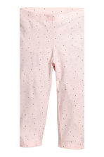 2-pack jersey pyjamas - Powder pink - Kids | H&M CN 5
