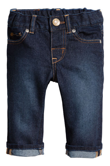 Jeans Slim fit  - Dark blue - Kids | H&M 1