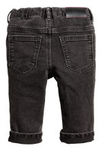 Slim fit Jeans - Black washed out - Kids | H&M 2