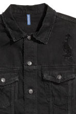 Denim jacket - Black - Men | H&M CN 3