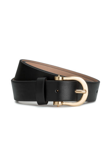 Narrow belt - Black - Ladies | H&M GB