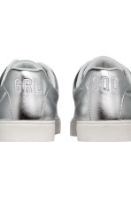 Trainers - Silver-coloured - Ladies | H&M 3