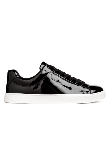 Trainers - Black/Patent - Ladies | H&M CN
