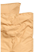 Washed cotton duvet cover set - Light mustard yellow - Home All | H&M CA 3