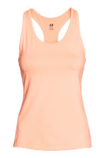 Sports vest top - Neon orange - Ladies | H&M CA 2