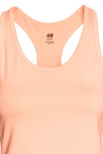 Sports vest top - Neon orange - Ladies | H&M CA 3