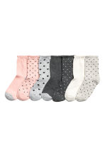 7-pack socks - Powder pink/Grey - Kids | H&M 1