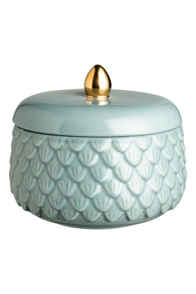 Textured box - Dusky green - Home All | H&M CN 1