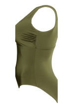 H&M+ Swimsuit - Khaki green - Ladies | H&M IE 4
