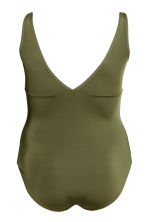 H&M+ Swimsuit - Khaki green - Ladies | H&M IE 3