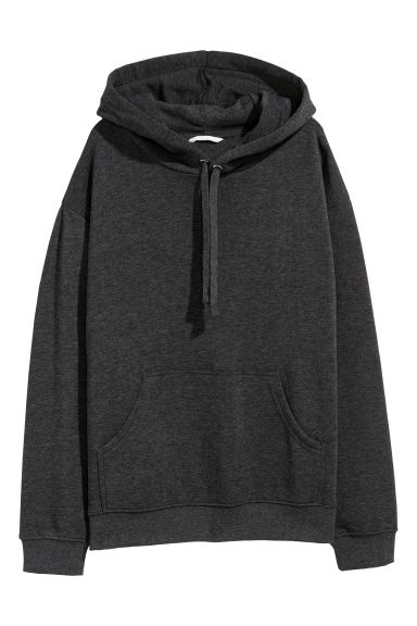 Hooded top - Dark grey - Ladies | H&M 1