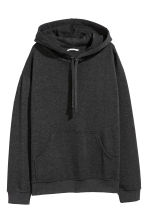 Hooded top - Dark gray - Ladies | H&M CA 1