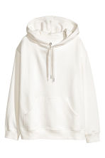 Hooded top - White - Ladies | H&M 2